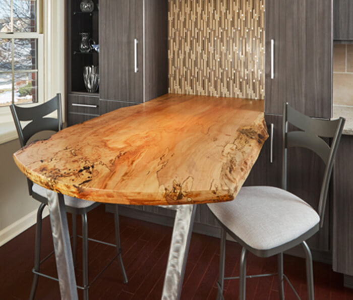 Solid Wood and Butcher Block Countertops for Kitchens